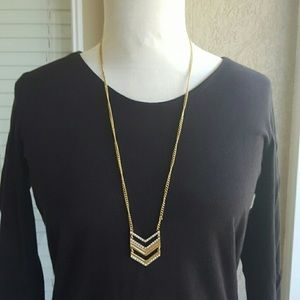 J CREW Chevron Necklace